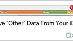 """How to Remove """"Other"""" Data from iPhone, iPad and iPod Touch; only for iOS 7, need instructions for iOS 8"""