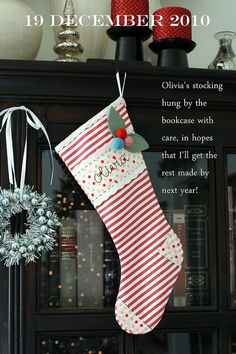 ermahgerd I lerve lerve lerve this stocking. Why can't this link be to a shop with 6 of them for sale? lols. So pretty.