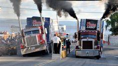Le Rodéo du camion à Notre-Dame-du-Nord
