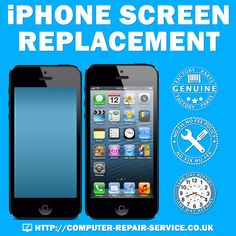 Accidents happen. Sometimes an iPhone screen can get cracked or shattered. We're here to help. At Computer repair Services offers Original iPhone screen replacements at affordable prices. http://www.computer-repair-service.co.uk/services/mobile-phones-repair/ #iPhone #Screen #iPhonescreen