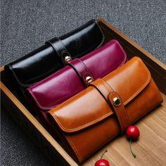 31.96$  Watch now - https://alitems.com/g/1e8d114494b01f4c715516525dc3e8/?i=5&ulp=https%3A%2F%2Fwww.aliexpress.com%2Fitem%2FNew-Ladies-Women-Wallets-Genuine-Leather-Purses-Long-Wallet-Men-Female-Wallets-Leather-Clutch%2F32740255767.html - New Ladies Women Wallets Genuine Leather Purses Long Wallet Men Female Wallets Leather Clutch