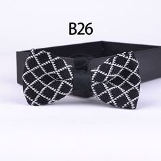 >> Click to Buy << NEW arrivals Knitted bowtie party wedding Knitting bow ties for men black with white plaids #Affiliate