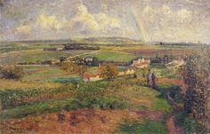 Cave to Canvas, Camille Pissarro, The Rainbow, 1877
