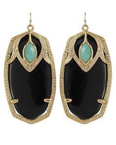 Darby Earrings in Black - Kendra Scott Jewelry