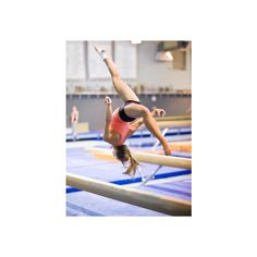 Miley Jonas Gymnastics(c) NO USING ❤ liked on Polyvore featuring gymnastics, people, sports, cheer and pictures