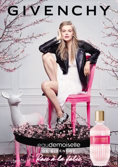 Givenchy Rue a la Folie Perfume Ad