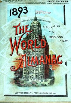 The World Almanac 1893