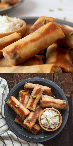 Vegetarian Bake, Tasty Vegetarian Recipes, Vegetarian Dinners, Veggie Recipes, Mexican Food Recipes, Cooking Recipes, Vegetarian Egg Rolls, Vegetarian Protein, Recipes Dinner