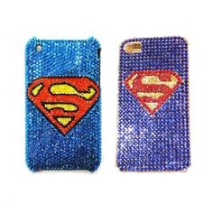 Superman Custom Bling Case Cover for iPhone 5 / 4 / 3