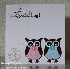 SU Owl punch Klaartjes kaartjes en meer...