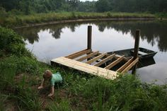 building a fishing pier
