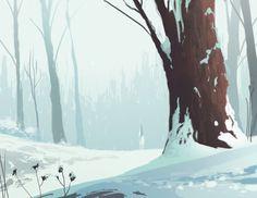 gawain and the green knight project: winter - matt crotts * artist & designer