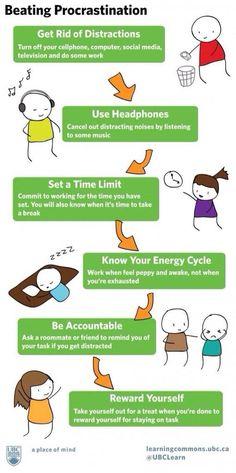 How to beat procrastination - #Procrastination, #Tips, #Tricks