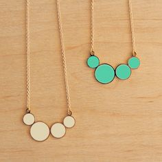 Circle Necklaces...cuteness