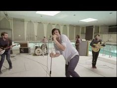 """Young the Giant - """"Cough Syrup"""" (Official Video) - Thanks to Blaine in Glee this is now one of my favourite songs can't get it out of my head! Indie Music, Music Tv, Good Music, Kinds Of Music, Music Is Life, Young The Giant, Cough Syrup, Soundtrack To My Life, Clips"""