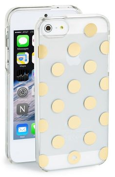 kate spade new york 'le pavillion' iPhone 5 & 5s case available at #Nordstrom