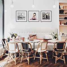Southern Home Decor parisian chic french interior sezane apartment modern french dining room lounge.Southern Home Decor parisian chic french interior sezane apartment modern french dining room lounge Estilo Interior, Interior Styling, Interior Decorating, Decorating Ideas, Decor Ideas, Office Inspiration, Style Inspiration, Appartement New York, Sweet Home