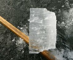 Lake Ice - Thawed Ice Ice Fishing