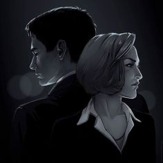 #Repost @aya_kun  I just wanted to watch pilot episode of X-files but suddenly I'm on 3rd season.  #unexplained #xfiles #governmentdeniesknowledge #mulder #scully #fanart