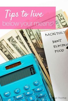 Is it possible to live within your means, free from debt and on a budget?!  YES!  Check out the tips that helped us to do this and a few specifics that we do in our home to live below our means.