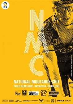 Affiche National Moutarde Crit.