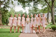 Pretty in pink. Photography by inContrast Images | incontrastimages.com, Floral Design by Bouquet Floral Design | bouquetfloraldesign.com, Read more - http://www.stylemepretty.com/2013/06/19/charlotte-wedding-from-incontrast-images/