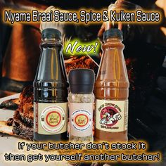 If your butcher does not have Nyama Braai Products, get yourself another butcher!!! Visit our website www.nyamabraai.co.za for a list of butcheries that stock our products and if you wish to become a reseller give us a call on 0123472795/0833507306 or send us an email to nyama@nyama-spitbraai.co.za
