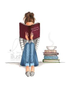 The Fine Art of Staying In Print by HNIllustration on Etsy A special illustration near and dear to my own heart... enjoy <3 by Emel