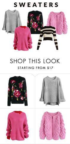 """""""swetry"""" by getdressedwithme on Polyvore featuring moda, Dolce&Gabbana, Chicwish i Proenza Schouler"""