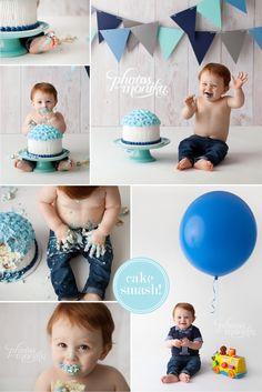 f05718d8ca80 blue boy cake smash manhattan beach Beach Cake Smash