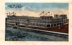 Crystal Palace - 2302 Seawall Boulevard, whole block  Built: 1916, was across the street from Buccaneer Hotel - demolished