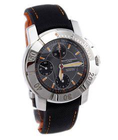 Steel Gents Baume et Mercier Capeland Chronograph Watch