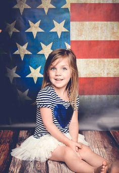 8ft x 8ft 4th of July Portrait Photography by MyBackdropShop, $159.99