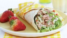 Tuna and apple wraps, from Pick n Pay #lunchbox