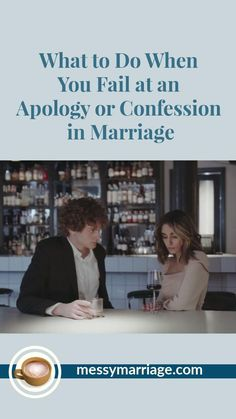 Have you recently failed at your attempt to confess or apologize with your mate? It's so easy to do, especially when it involoves a place where your spouse has been wounded or is hesitant to forgive. Come by MM to find ways to apologize more effectively, redoing your failed effort in a positive way. #marriage #forgive #apologize #tips #apology #quotes #forgiveness #confession #failure #failed #communication #conflict #strategies #humble