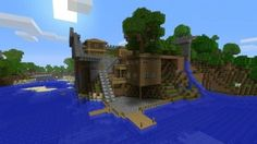 Oak Wood House Minecraft