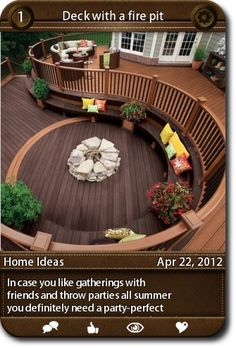 In case you like gatherings with friends and throw parties all summer you definitely need a party-perfect deck or patio. Here are such decks and patios and you