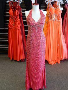 SOLD - $99 - Size 8 - Fuchsia - Tiffany