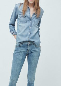 0272b74a3f0f Kim skinny push-up jeans - Jeans for Woman