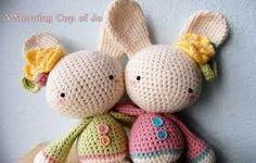 Bildergebnis für easter bunny crochet
