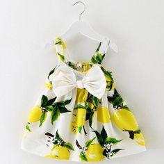 Tropical Baby Summer Flower Dress
