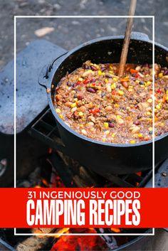 31 camping recipes f