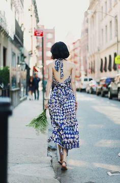 Sun dress.