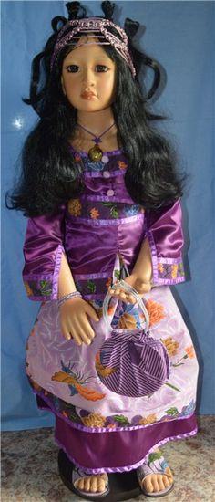 Чудесная Pinne от Dwi Saptono *9900* с доставкой по России / Коллекционные куклы (винил) / Шопик. Продать купить куклу / Бэйбики. Куклы фото. Одежда для кукол