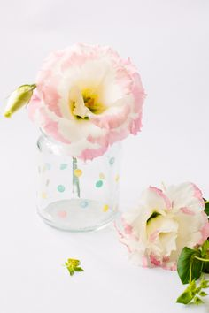 DIY Spotty Jars and Jewellery Dishes