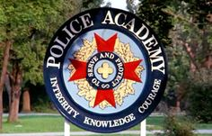 Hi everyone, Would somebody please post a Graphic of the Police Academy logo? Police Academy Movie, Academy Logo, Comedy Films, Stunts, Baddies, Movies, Image, Waterfalls, Films