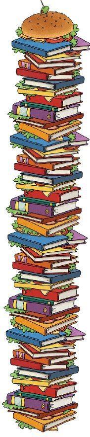 """Un p'tit creux pour un bon livre? /   A little hollow for a good book? / """"¿Un buen bocata de libros?"""""""