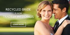 This website is full of stuff that people used in their weddings and you can buy and sell everything!