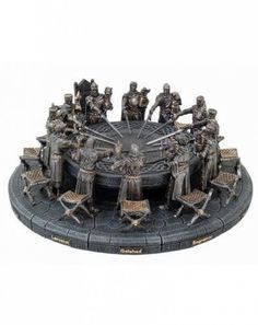 I bought this Knights of the Round Table set for my mom. She loves this stuff!