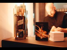 Johnnie Walker Gold Label Reserve Bottle Gloryfier